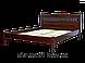 Кровать двуспальная деревянная Комфорт 180*200, Орион, фото 2