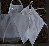 Одежки для свадебного шампанского (кремовые)