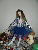 Детское Платье на девочку Сердце с фатином