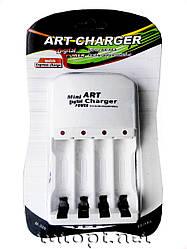 Зарядное устройство на 4 аккумулятора ART Charger M-208 AA/АAА - R3/R6 Ni-Cd - Ni-mH
