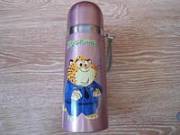 Детский термос для напитков и чая с клапаном ZooTopiA  500 ml