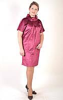 Вельветовый балон платье женское  ПЛ 087-3