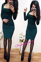 Платье в деловом стиле 912