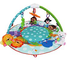 Развивающий коврик музыкальный Умный малыш 7182 с дугами