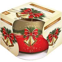 Арома свеча в стакане Pragnis sn71-02 Рождество