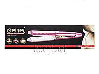 Утюжок для выравнивания волос Gemei GM-2957 с керамическим покрытием