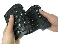Клавиатура проводная силиконовая USB, KEYBOARD
