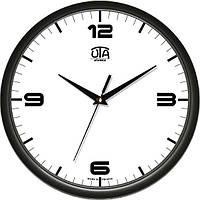 Настенные часы в офис 300Х300Х45мм [Пластик, Под стеклом]