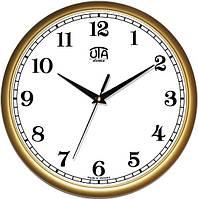 Офисные настенные часы 300Х300Х45мм [Пластик, Под стеклом] UTA-01-G-41