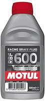 Тормозная синтетическая жидкость Motul RACING BRAKE FLUID 600 FACTORY LINE
