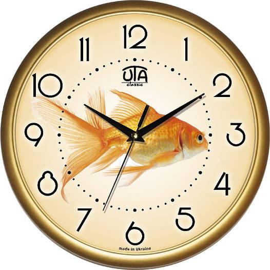 Детские настенные часы 300Х300Х45мм [Пластик, Под стеклом]