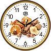 Часы кухонные настенные 300Х300Х45мм [Пластик, Под стеклом]