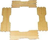 Заготовка рамки для сотового меда под рамку 435Х145 по 4шт.