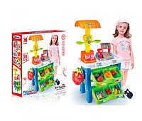Игровой набор Супермаркет 1282 с касСой