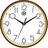 Настенные часы 300Х300Х45мм [Пластик, Под стеклом]