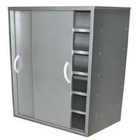 Шкафы с дверями-купе из нержавеющей стали