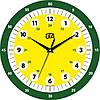 """Настенные часы обучающие детские 330Х330Х30мм """"Учим время"""" [МДФ, Открытые]"""