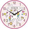 Настенные часы в детскую 330Х330Х30мм [МДФ, Открытые]