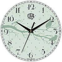 Настенные часы в детскую комнату 330Х330Х30мм [МДФ, Открытые] UTA-006-DS