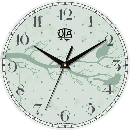 Настенные часы детские 330Х330Х30мм [МДФ, Открытые]