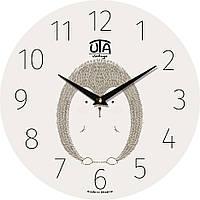 Настенные часы в детскую комнату 330Х330Х30мм [МДФ, Открытые] UTA-007-DS белые