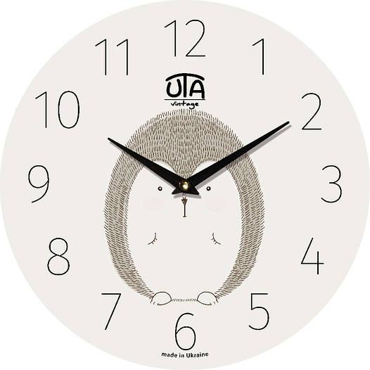Настенные часы в детскую комнату 330Х330Х30мм [МДФ, Открытые]