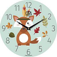 Часы интерьерные для детей 330Х330Х30мм [МДФ] UTA-008-DS
