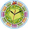 Часы настенные для детей 330Х330Х30мм [МДФ, Открытые]