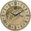 Часы настенные винтаж 330Х330Х30мм [МДФ, Открытые]