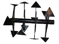"""Борона - фреза четыре секции (пара) мотоблока """"Zirka - 105"""", """"Zirka - 135"""" (""""Гусиные лапки"""")"""