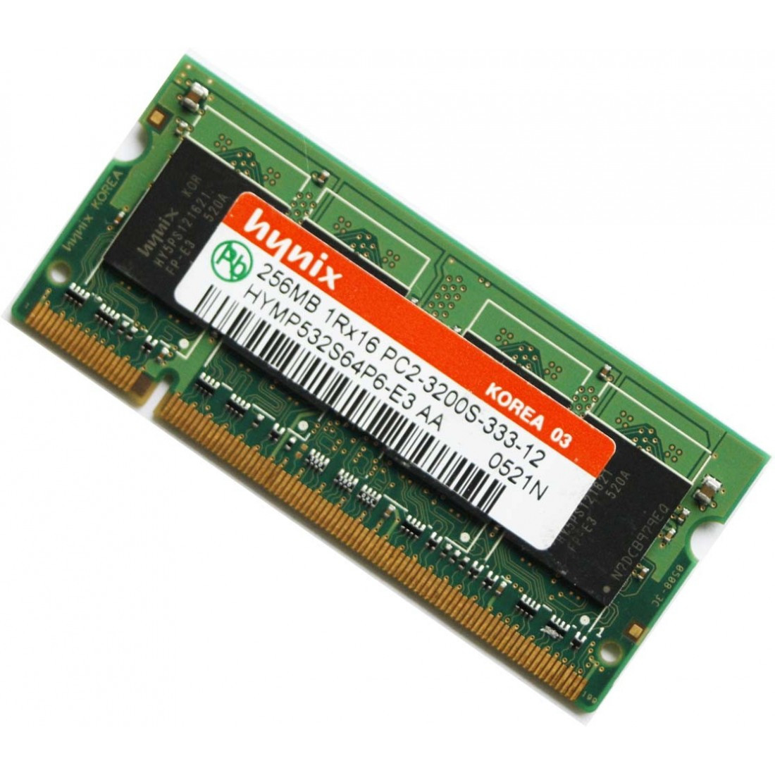 Память DDR2 256Mb SO-DIMM PC2-3200S 400MHz ОЗУ для ноутбука (нетбука)