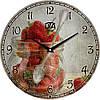 """Настенные часы 330Х330Х30мм """"Малина"""" [МДФ, Открытые]"""