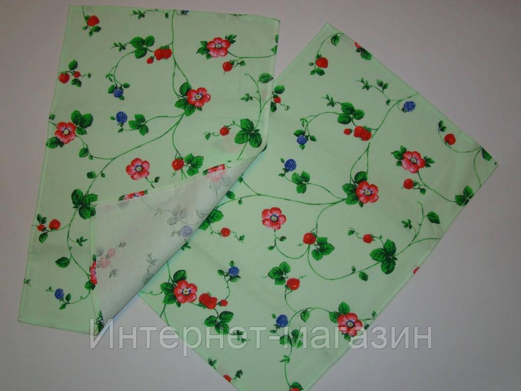 Кухонное вафельное полотенце (35х56 см) код 0057