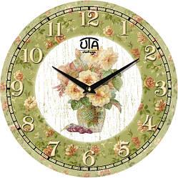 """Часы настенные винтаж 330Х330Х30мм """"Прованс"""" [МДФ, Открытые]"""