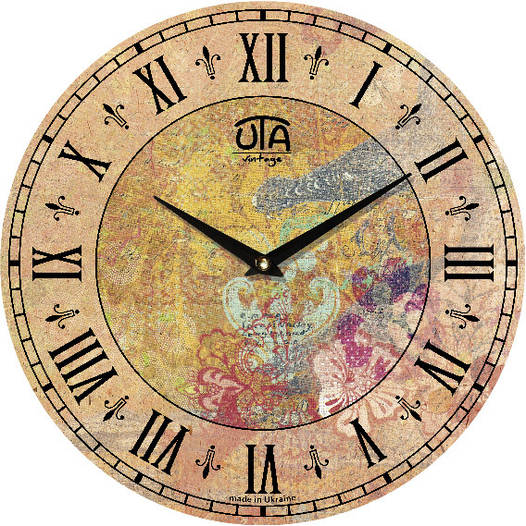 Настенные часы 330Х330Х30мм [МДФ, Открытые]