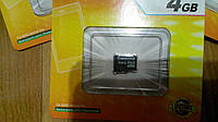 Карта памяти MicroSD Transcend 4GB 4 class