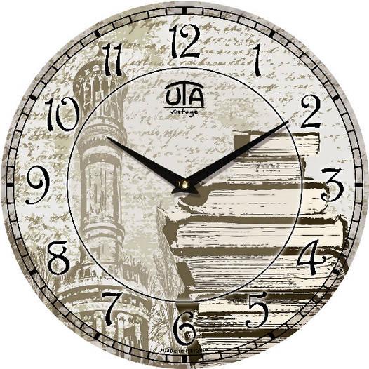 Часы настенные модерн 330Х330Х30мм [МДФ, Открытые]