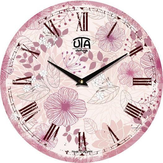 """Настенные часы 330Х330Х30мм """"Прованс"""" [МДФ, Открытые]"""