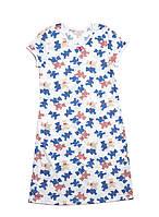 Хлопковая ночная сорочка для девочек