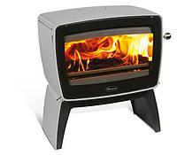 Чугунная печь Dovre Vintage 50 TB/Е14 светло серая эмаль - 9 кВт