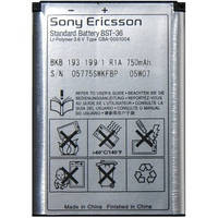 Аккумулятор original Sony Ericsson BST-36