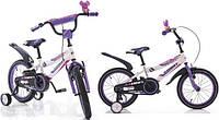 Детский двухколесный велосипед 14  Азимут Файбер Azimut Fiber