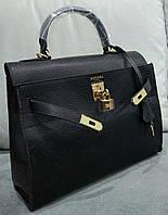 Сумка копия бренда цвет черный  качественная эко-кожа