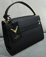 Сумка Валентино Valentino  качественная эко-кожа черная