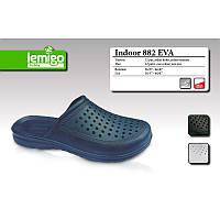 882-(46-47) Тапочки LEMIGO Indoor 882-46/47 синие  EVA