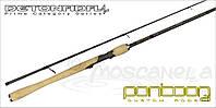 """Спиннинговое удилище DETONADA 6'6"""" 7-21gr, 8-20lb, ExFast Certified PRO Gray"""