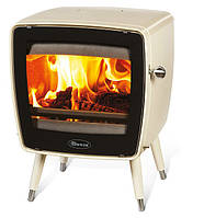 Чугунная печь Dovre Vintage  35/Е8 бежевая эмаль - 7 кВт