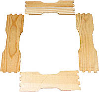 Заготовка рамки для сотового меда под рамку 435Х300 по 8шт.