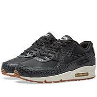 Оригинальные  кроссовки Nike W Air Max 90 Premium Black, Sail & Gum