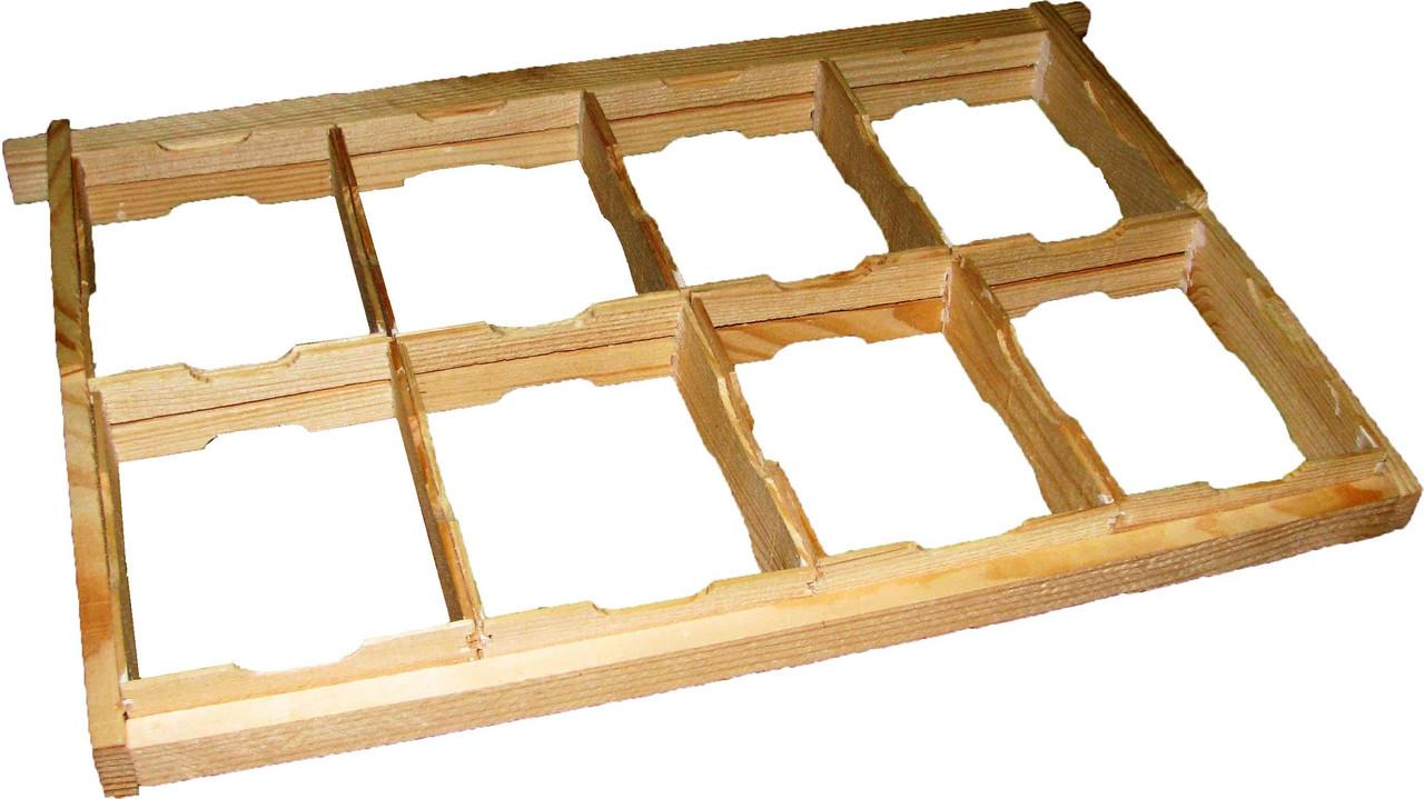 Комплект рамки для сотового меда 435Х300 по 8 шт.